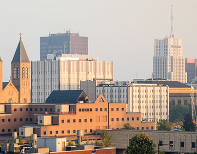 Akron in Color