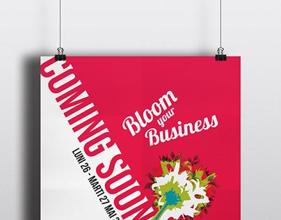 Flower Design Event - Poster Design