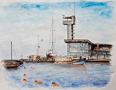 Nida watercolor