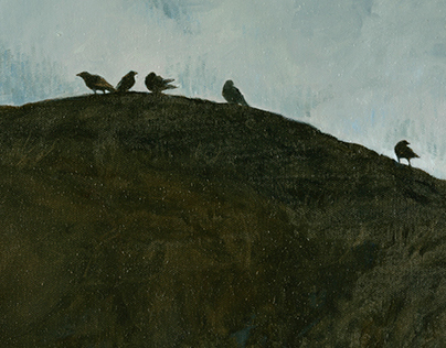 Crows | paintings, monotypes and drawings