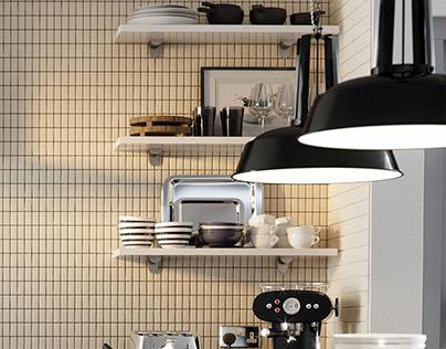 Designer kitchens CGI roomsets