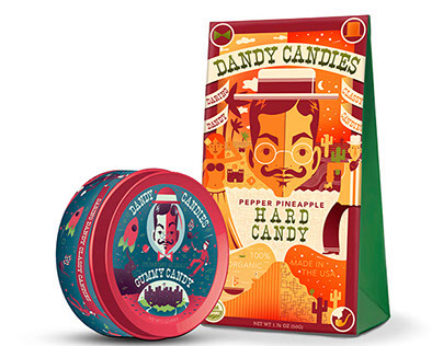 Dandy Candies Packaging