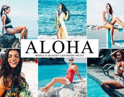 Free Aloha Mobile & Desktop Lightroom Preset