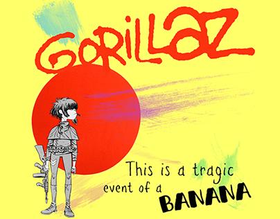 Projeto Gráfico: Gorillaz
