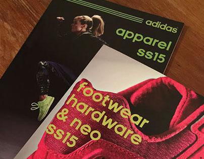 Adidas Spring/Summer ANZ Catalogues