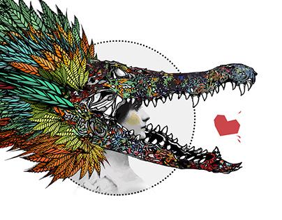 CROCO CHANEL // concept art