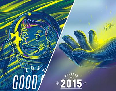 my sketchbook-gb 2014 and hi 2015