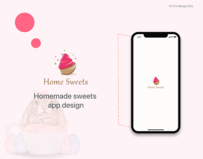 Home Sweets mobile app UI | UX