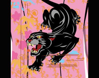 Crouching Panther