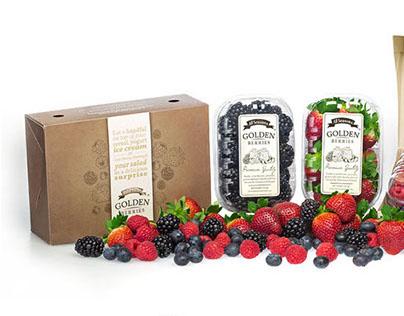 Golden Berry Packaging