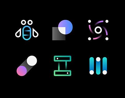 IBM app icons