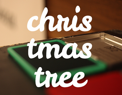 Christmas Tree // Collaborative finger project