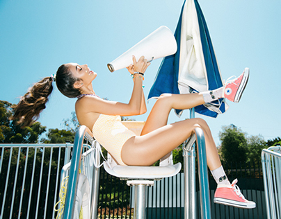 "Mink Pink's ""Water Aerobics"" Campaign"