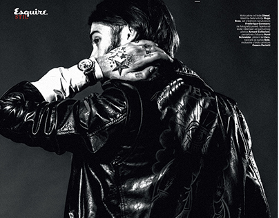 Fashion editorial/Esquire/Jan-Feb 2015