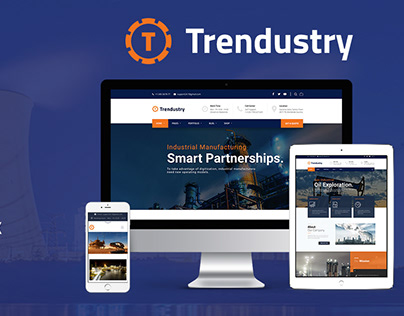 Trendustry WordPress Theme