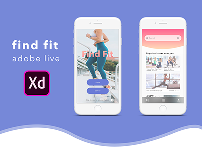 Adobe Live - Find Fit App