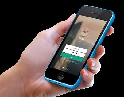 Passbook Style App - Concept