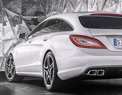 CLS 63 AMG SHOOTING BRAKE /FULL CGI/PERSONAL WORK