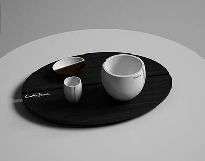 CoffeBean CupSet Concept Design