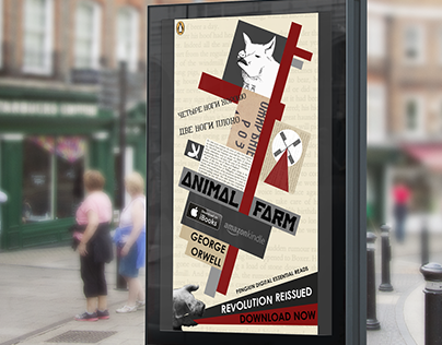 Penguin Books Motion Poster: Animal Farm