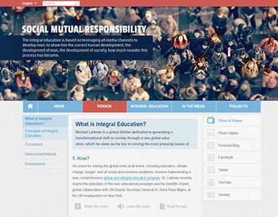 Integral Education Responsive Website