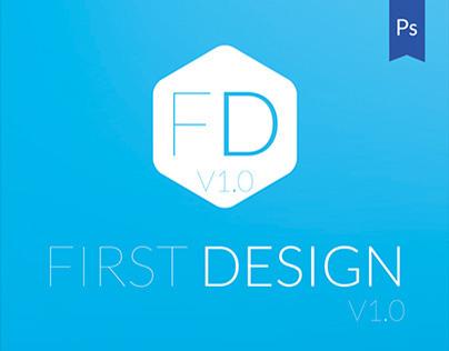 First Design v1.0