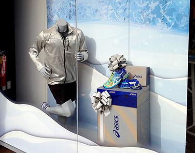 Holiday Windows 13 - ASICS Retail