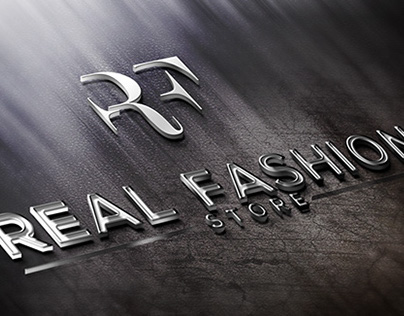 3D Logo & Identity Design for Real Fashion Store