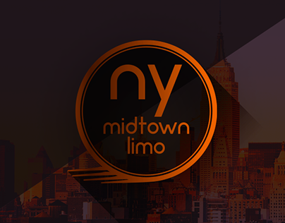 NY Midtown Limo - Logo Design