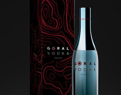 GORAL VODKA - Unique package design