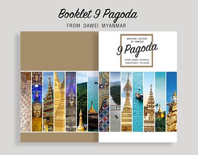 Booklet Design 9 Pagoda for Dawei Hotel