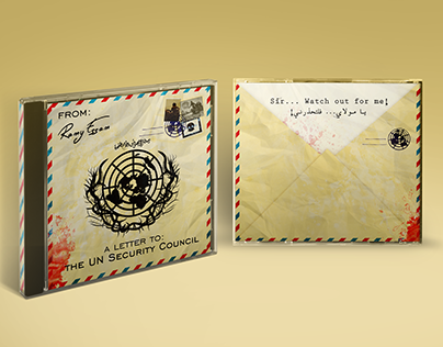 """""""Ramy Essam - A Letter to the UN """" Non-official Artwork"""