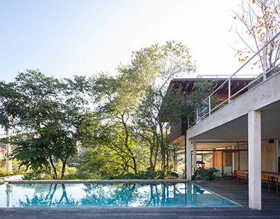 Contemporary architecture house design in Brazil