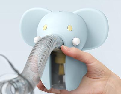 Ela Elephant | Nebulizer Comfort Kit