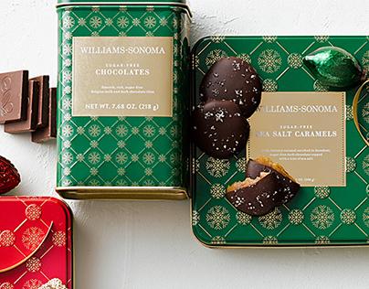 Williams-Sonoma Holiday Tins