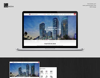 PT Pakuwon Jati Tbk - Corporate Official Website Design