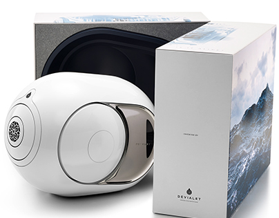 Packaging devialet
