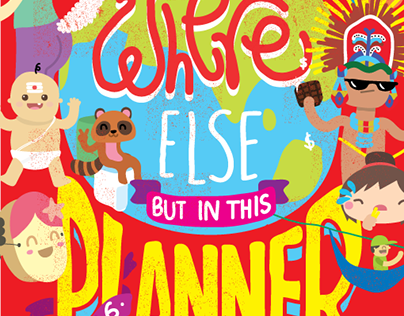 Cafe Coffee Day Planner - 2016