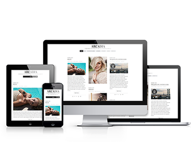 Arcadia - Responsive WordPress Blog Theme