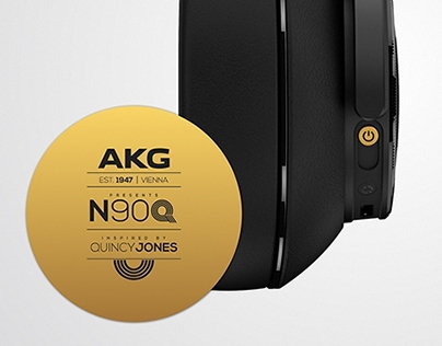 AKG N90Q / Over-Ear Headphones