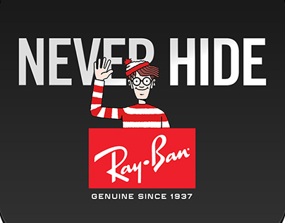 "Ray.Ban ""ghost ad """
