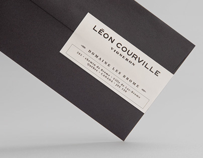 Léon Courville Vigneron | Branding | lg2boutique