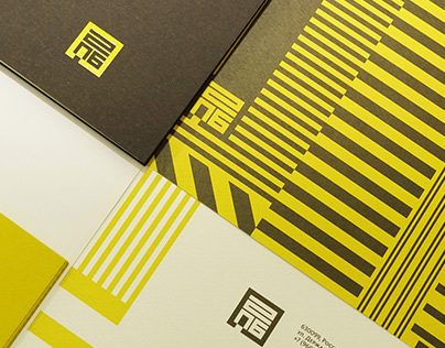 Identity of architectural bureau.
