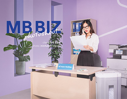 BIZ MB Key visual Photoshoot