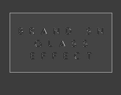 BRAND SN GLASS EFFECT