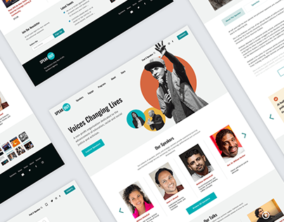 SpeakOut - Website Design