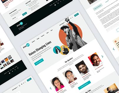 SpeakOut - Website Design