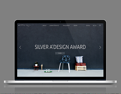 Nomadka webpage design