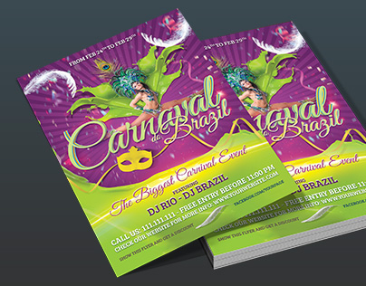 Colourful Carnival Flyer Template