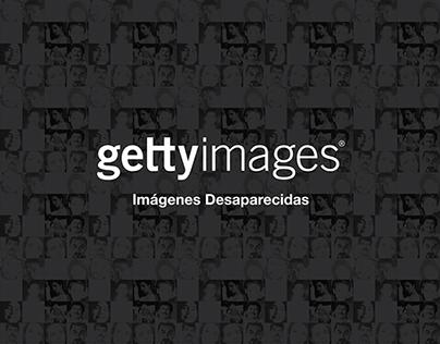 Getty Images - Imágenes Desaparecidas